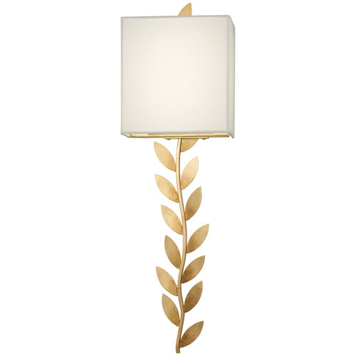 Arbor Grove Ardent Gold Leaf Two-Light LED Wall Sconce