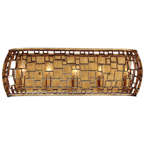 Abbondanza Halcyon Gold 26-Inch Five-Light Bath Light
