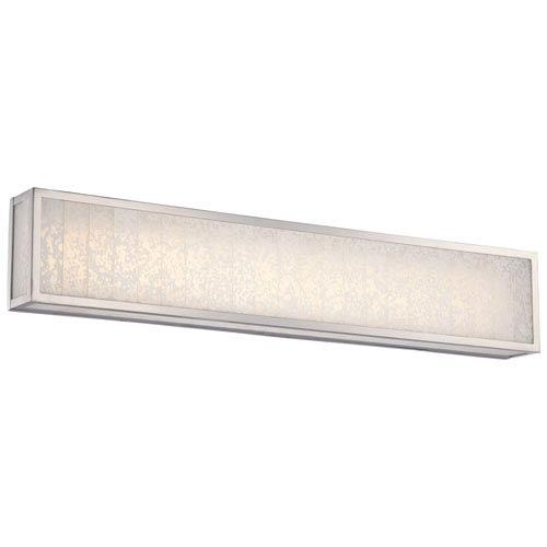 Lake Frost Polished Nickel One-Light LED 32-Inch Bath Light