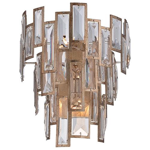 Metropolitan Lighting Bel Mondo Luxor Gold Three-Light Wall Sconce