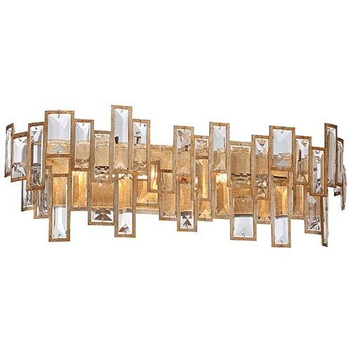 Metropolitan Lighting Bel Mondo Luxor Gold Four-Light Bath-Bar