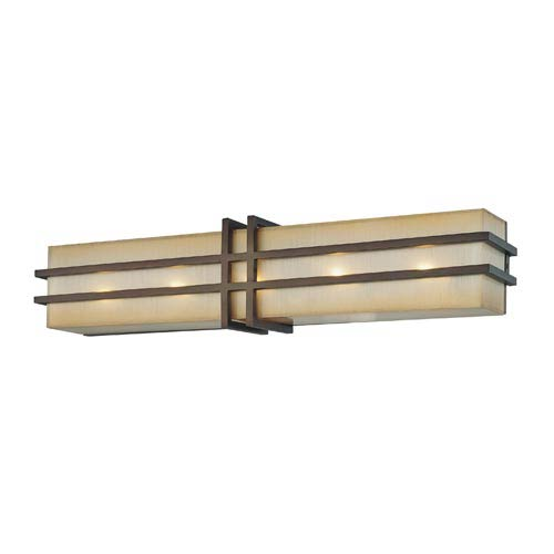 Walt Disney Signature Underscore Cimarron Bronze Five-Light Bath Light