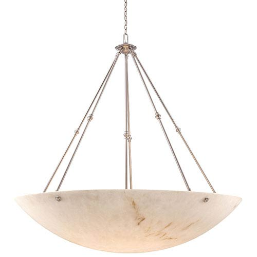 Virtuoso II Pewter Plated 12-Light Bowl Pendant