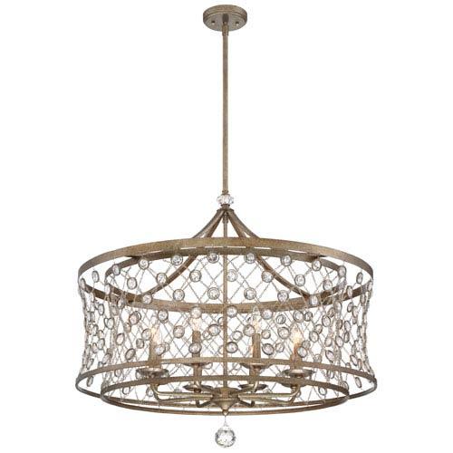 Vel Catena Arcadian Gold Eight-Light Pendant