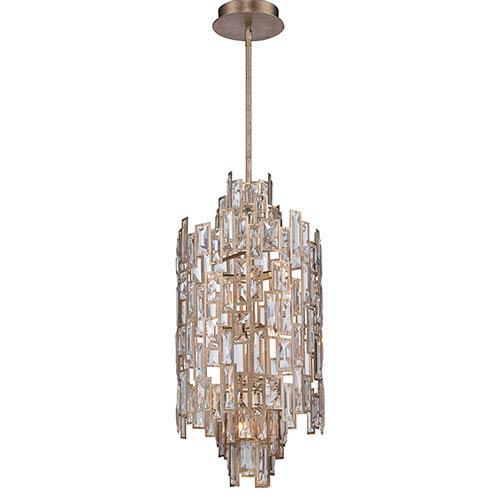Metropolitan Lighting Bel Mondo Luxor Gold 10-Light Foyer Pendant