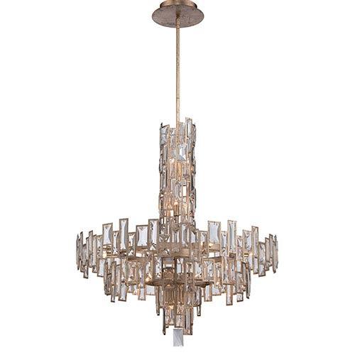 Metropolitan Lighting Bel Mondo Luxor Gold 18-Light Chandelier