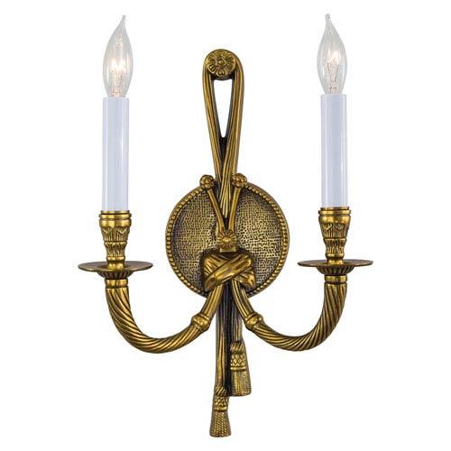 Metropolitan Lighting Vintage Two-Light Sconce