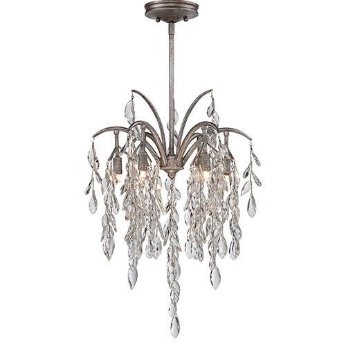 Bella Flora Silver Mist Six-Light Pendant