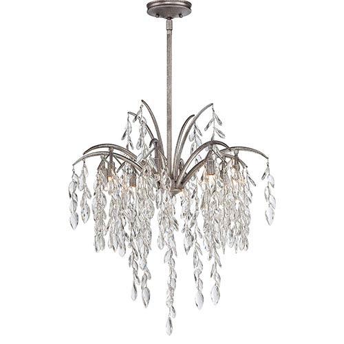 Bella Flora Silver Mist Eight-Light Pendant