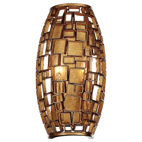 Abbondanza Halcyon Gold 8-Inch Two-Light Wall Sconce