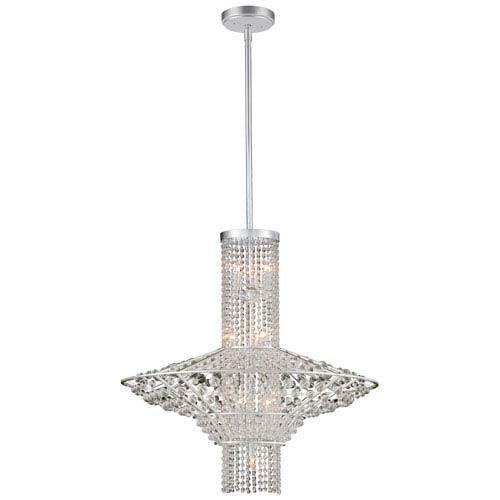 Saybrook Catalina Silver Ten-Light Pendant