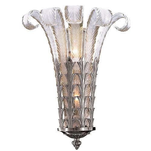 Metropolitan Lighting Platinum Two-Light Wall Sconce