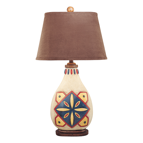 Minka-Lavery Hand Painted One-Light Table Lamp