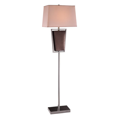 Metal Ceramic One-Light Floor Lamp
