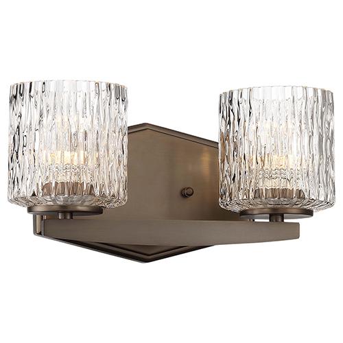 Maginot LED Harvard Court Bronze Two-Light LED Bath Vanity
