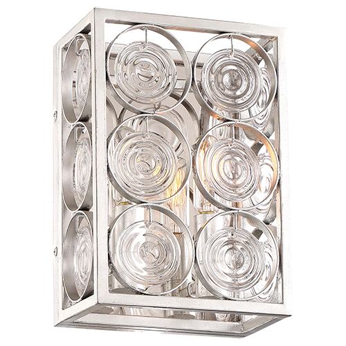 Culture Chic Catalina Silver Two-Light Wall Sconce