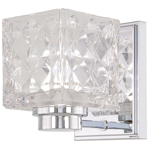 Minka-Lavery Glorietta Chrome LED Bath Sconce