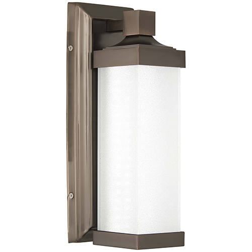5501-281-L Harvard Court Bronze LED Wall Sconce