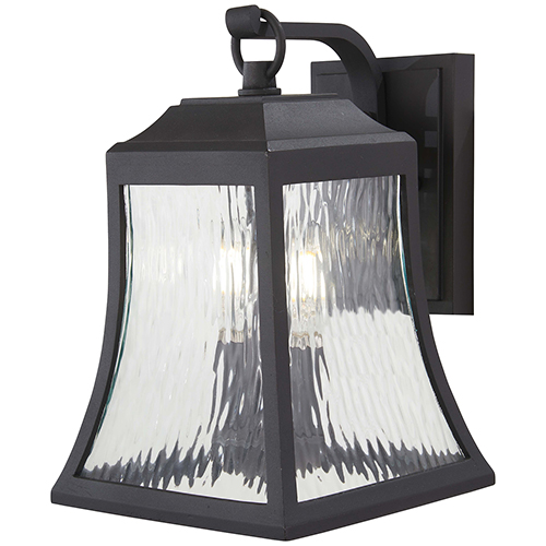 Minka-Lavery Cassidy Park Black Two-Light Outdoor Wall Sconce