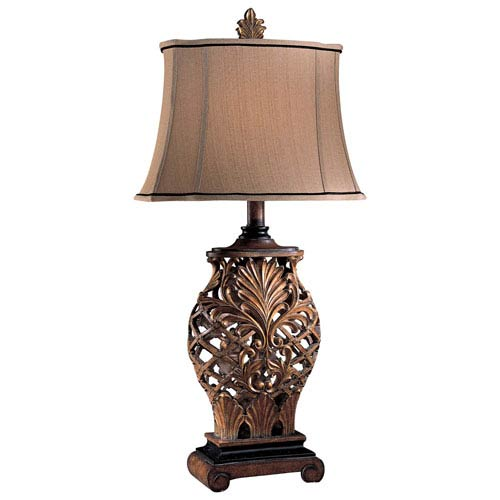 Jessica McClintock Home Romance Weathered Lattice Table Lamp