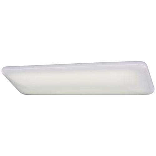 White Long Wide Fluorescent Kitchen Light
