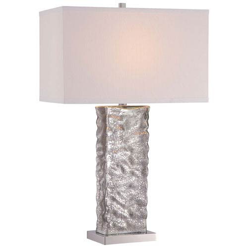 Mercury Glass 11-Inch One-Light Table Lamp