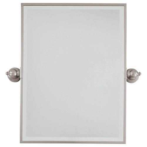 Brushed Nickel Mirror