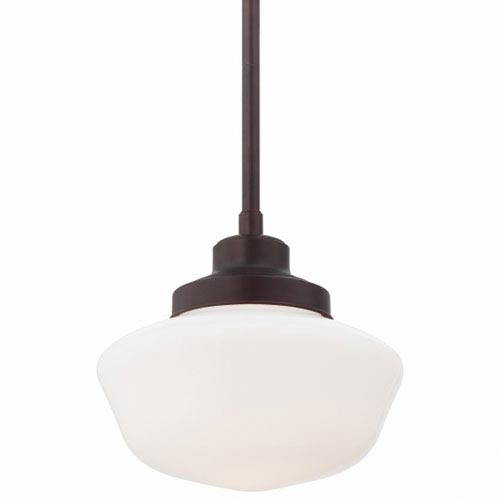 Minka-Lavery One-Light Pendant in Brushed Bronze
