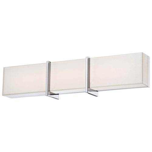 Minka-Lavery High Rise Chrome 24.25-Inch Wide LED Wall Sconce