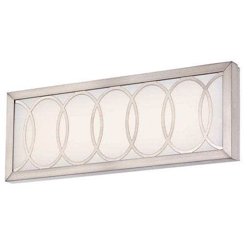 Minka-Lavery Celice Brushed Nickel 16.25-Inch Wide LED Wall Sconce