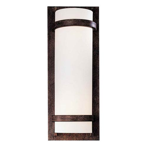 Iron Oxide Sconce