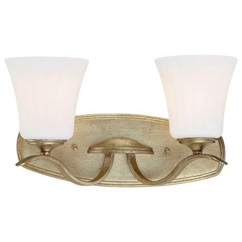 Laurel Estate Brio Gold Two-Light Vanity