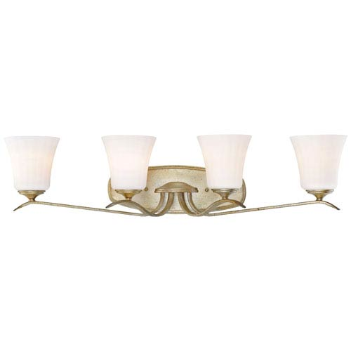 Laurel Estate Brio Gold Four-Light Vanity
