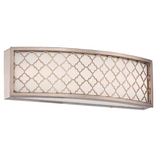 Westwood Court Champagne Gold 16-Inch One-Light LED Bath Fixture