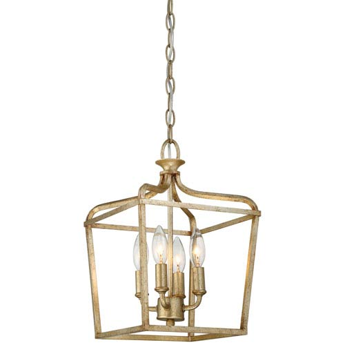 Laurel Estate Brio Gold Four-Light Semi Flush
