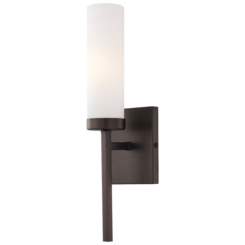 Copper Bronze Patina One-Light ADA Wall Sconce