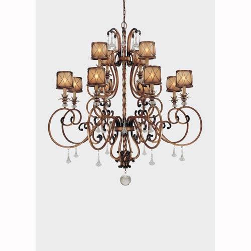 Aston Court Twelve-Light Chandelier