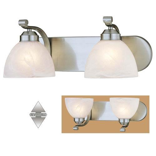 Minka-Lavery Paradox Fluorescent Two-Light Bath Fixture
