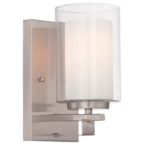Parsons Studio Brushed Nickel 4.5-Inch One-Light Bath Sconce