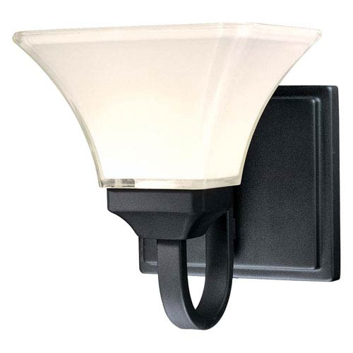 Minka-Lavery Agilis Black One-Light Bath Fixture