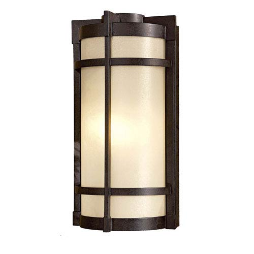 Mirador Exterior Large Pocket Fluorescent Outdoor Wall Light