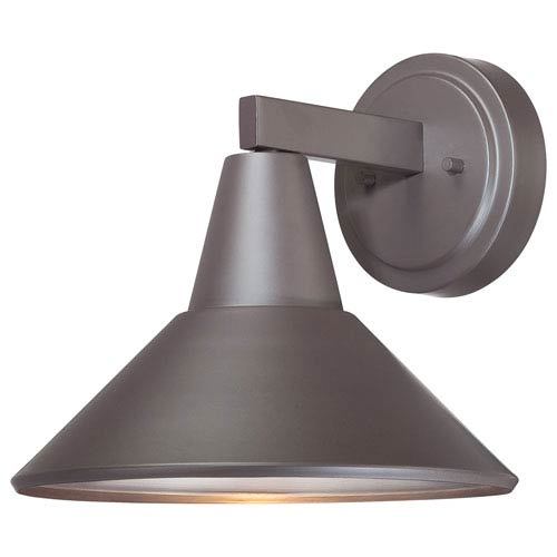 Minka-Lavery Baycrest Dorian Bronze One-Light Outdoor Wall Mount