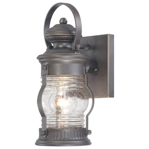 Minka-Lavery Lynnfield One-Light Outdoor Wall Mount in Oil Rubbed Bronze