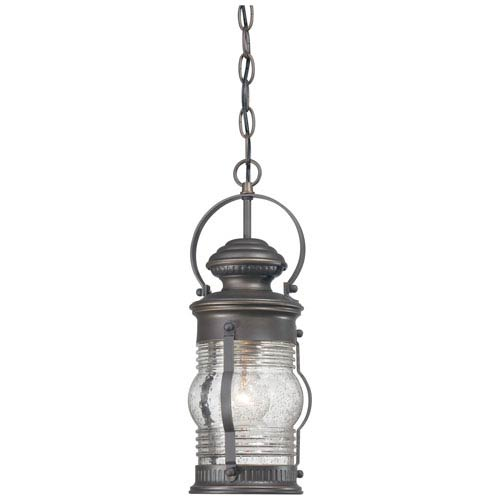 Minka-Lavery Lynnfield One-Light Outdoor Chain Hung in Oil Rubbed Bronze