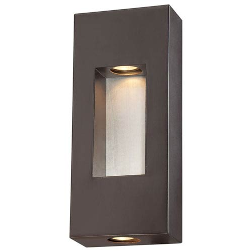 Minka-Lavery Geox Dorian Bronze Two-Light Wall Lantern