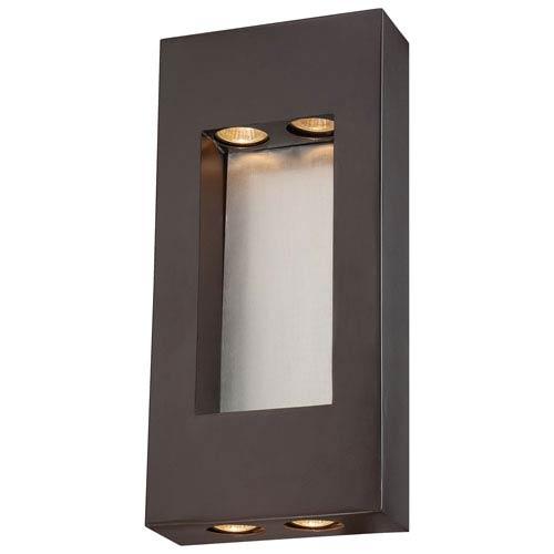 Geox Dorian Bronze Four-Light Wall Lantern