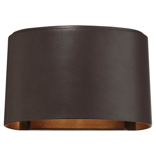 Everton Dorian Bronze LED One-Light Outdoor Wall Sconce