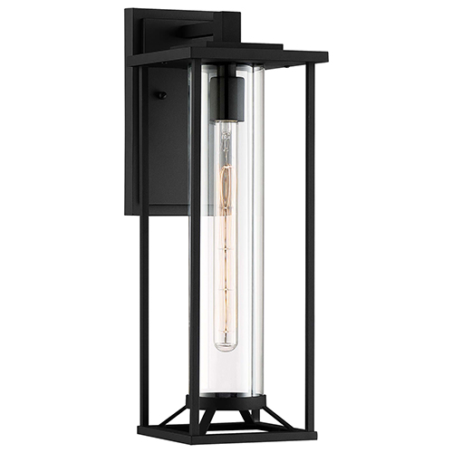 Trescott Black 20-Inch One-Light Outdoor Wall Lantern