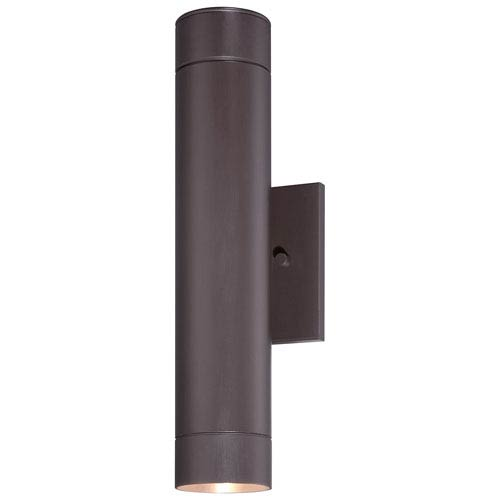 Minka-Lavery Skyline Dorian Bronze Two-Light Outdoor LED Wall Mount