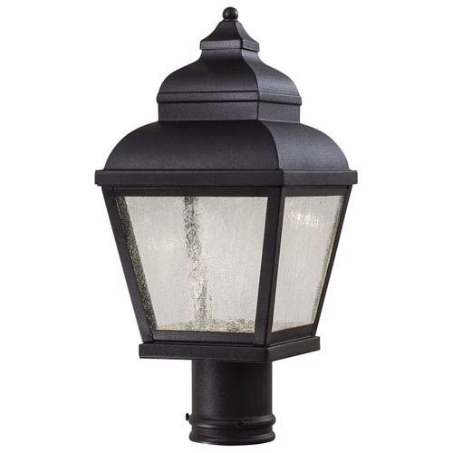 Minka-Lavery Mossoro Black 16.75-Inch High LED Outdoor Post Mount